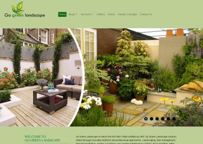 Go Green Landscape